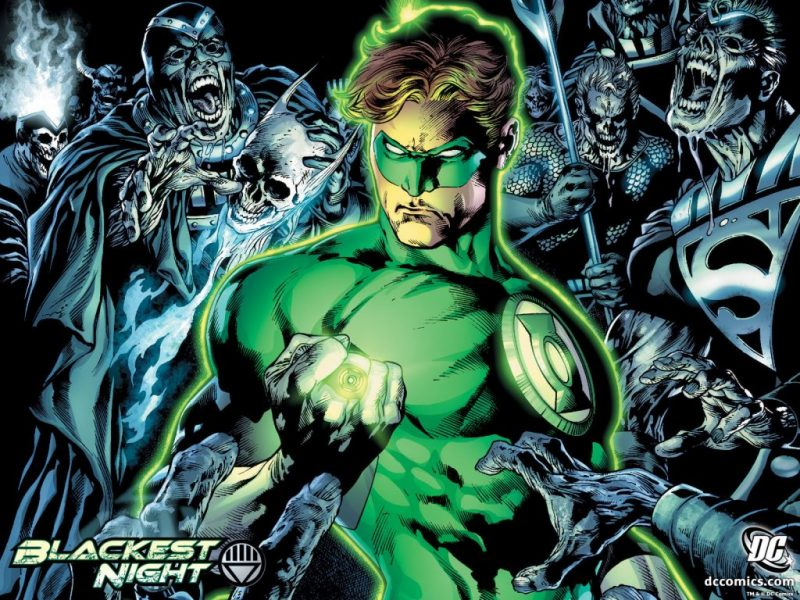 Justice Leage and Blackest Night