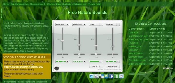 Nature Sounds for Me